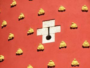 fachada del museo de salvador Dalí en figueres