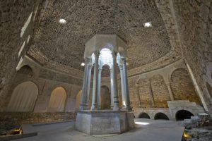 Interior de edificio arquelógico